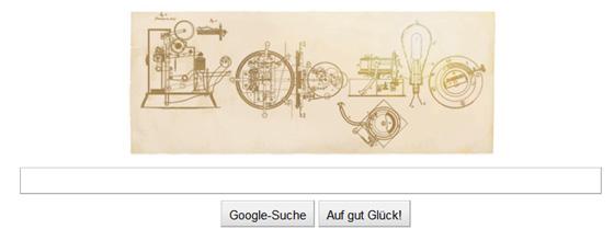 Thomas Alva Edison Doodle